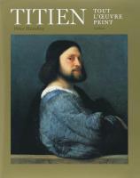 Titien ; tout l'oeuvre peint - Couverture - Format classique