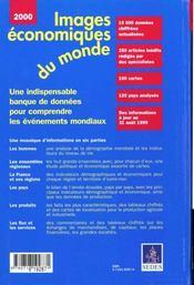 Images Economiques Du Monde 2000 - 4ème de couverture - Format classique