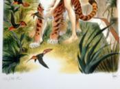Frank, Zoo des Roches, Manon. Sérigraphie numérotée 132/180 HC, signée. - Couverture - Format classique