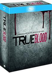 True Blood - L'Intégrale Des Saisons 1 À 4 - Couverture - Format classique