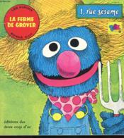 Les Albums Bonne Nuit - La Ferme De Grover - 1 Rue Sesame - Grover A La Ferme - Couverture - Format classique