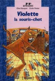 Violette La Souris Chat - Couverture - Format classique