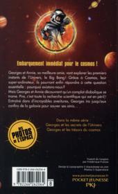 Georges et le big bang - 4ème de couverture - Format classique