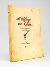 De Vigne en Chai , dessins animés par J. Jacques Rousseau [ Edition originale ] - Couverture - Format classique