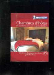GUIDE ROUGE ; guide michelin maisons d'hôte de France (édition 2008) - Couverture - Format classique