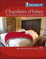 GUIDE ROUGE ; guide michelin maisons d'hôte de France (édition 2008) - Intérieur - Format classique
