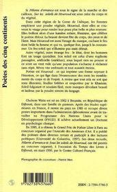 Sur Les Soleils De Houroud - 4ème de couverture - Format classique