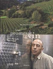 Une promesse de vin - Couverture - Format classique