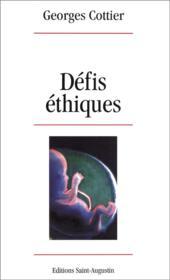 Défis éthiques - Couverture - Format classique