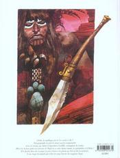 Bande dessinee - le tresor de cibola - 4ème de couverture - Format classique