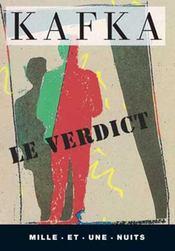 Le verdict - Intérieur - Format classique