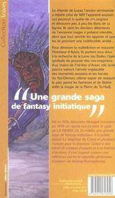 La pierre de tu-hadj - livre 2 - 4ème de couverture - Format classique