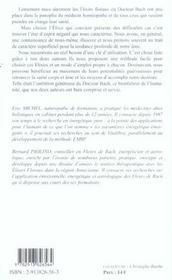 Fleurs de la destinee - elixirs floraux (édition 2005) - 4ème de couverture - Format classique