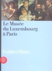 Le musee du luxembourg a paris - Couverture - Format classique