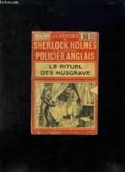 Aventures De Sherlock Holmes. Le Rituel Des Musgrave. - Couverture - Format classique
