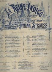 La Reine Indigo - N°13 : Valse Brindisi - Piano Et Chant Soprano Ou Tenor. - Couverture - Format classique