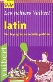 Latin 5e-4e - Intérieur - Format classique