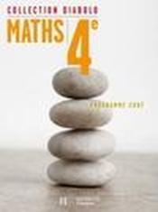 DIABOLO ; mathématiques ; 4ème ; livre de l'élève ; édition 2007 - Couverture - Format classique