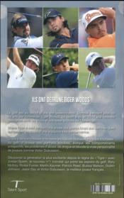 La relève de Tiger Woods - 4ème de couverture - Format classique