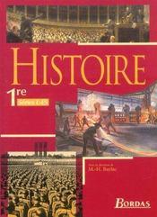 Histoire 1re l es manuel 2003 - Intérieur - Format classique