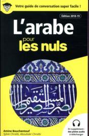 L'arabe pour les nuls (édition 2018/2019) - Couverture - Format classique