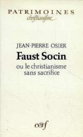 Faust socin - Couverture - Format classique