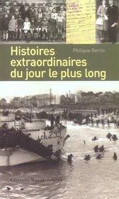 Histoires extraordinaires du jour le plus long - Intérieur - Format classique