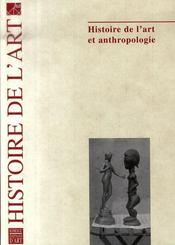 Histoire de l'art et anthropologie - Intérieur - Format classique