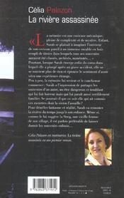 Riviere assassinee - 4ème de couverture - Format classique