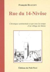 Rue du 14-nivose - Couverture - Format classique