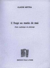Ange Au Matin De Mai (L') - Couverture - Format classique