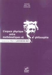Espace Physique - Maths Et Philo - Intérieur - Format classique