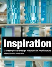 Inspiration - Design Methodology In Architecture /Anglais - Couverture - Format classique