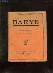 Barye. - Couverture - Format classique