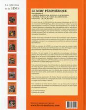 Le nerf périphérique - 4ème de couverture - Format classique