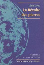 La Revolte Des Pierres - Intérieur - Format classique