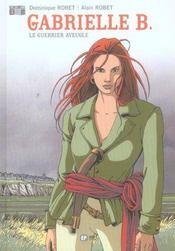 Gabrielle B. t.1 ; le guerrier aveugle - Intérieur - Format classique