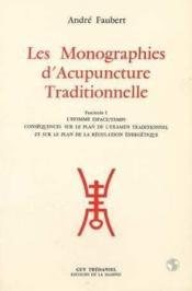Monographies d'acupuncture (tome 1) - Couverture - Format classique