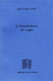 Deambulatoire Des Orages (Le) - Couverture - Format classique