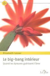 Le big bang intérieur ; quand les épreuves guérissent l'âme - Intérieur - Format classique