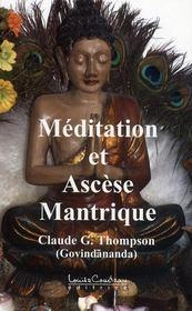 Méditation et ascèse mantrique - Intérieur - Format classique