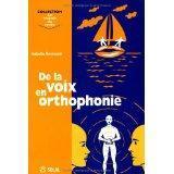 De la voix en orthophonie - Couverture - Format classique