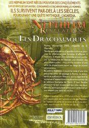 Les Dracomaques - 4ème de couverture - Format classique