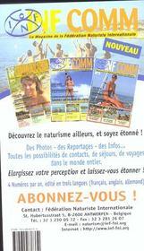 Guide Mondial Du Naturisme ; Edition 2002 - 4ème de couverture - Format classique