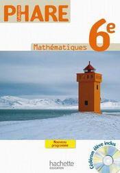 Mathématiques ; 6ème ; livre de l'élève (édition 2009) - Couverture - Format classique