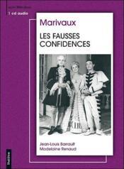 Les fausses confidences - Couverture - Format classique