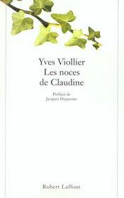 Les Noces De Claudine - Intérieur - Format classique