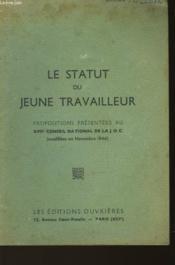 Le Statut Du Jeune Travailleur - Couverture - Format classique