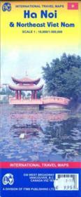 Hanoï & northeast vietnam ; 1/18 000 : 1/1500 000 (édition 2007) - Couverture - Format classique
