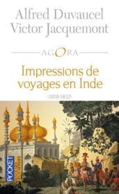 Impressions de voyages en Inde (1818-1832) - Couverture - Format classique